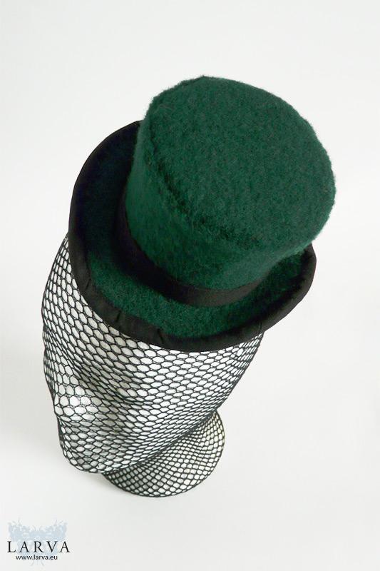 [:de]Grüner Mini-Zylinder[:en]Green mini top hat