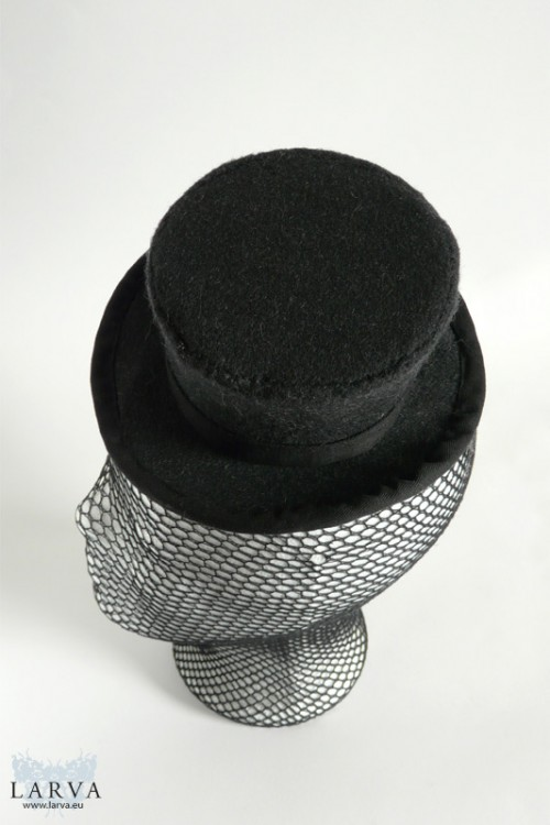 [:de]Grauer Mini-Zylinder[:en]Grey mini top hat