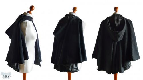 [:de]Wildlederumhang[:en]Suede cloak